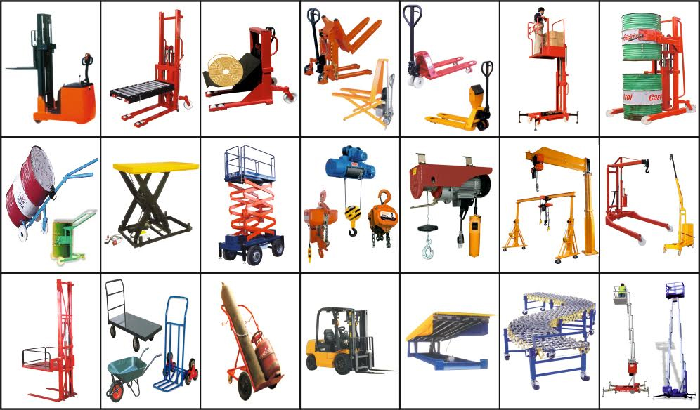 Tips of Material Handling Equipment