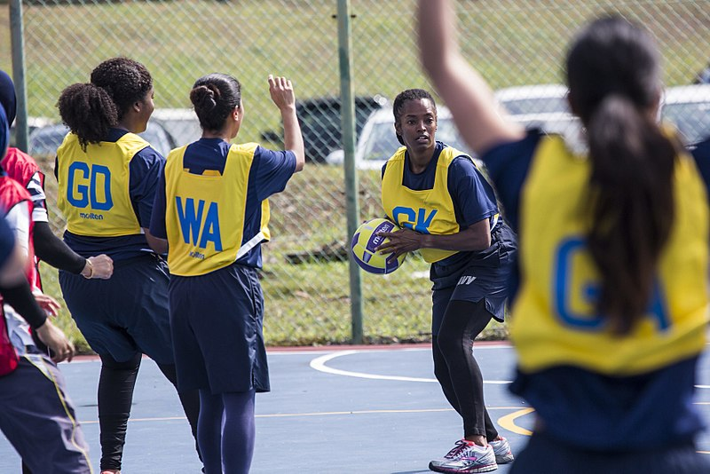 Wing Defence in Netball